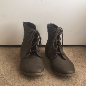 Ankle Combat Boots